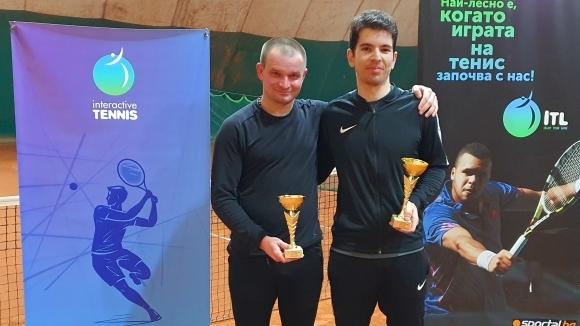 Любен Попов спечели първия уикенд турнир на Интерактив тенис за