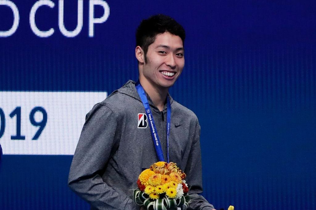 """Олимпийският шампион Косуке Хагино призна, че е плувал """"по-бавно от"""