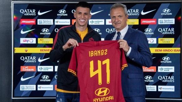 Рома официално привлече защитника на Аталанта Роджър Ибанес. Бразилецът беше
