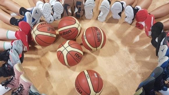 Националният отбор за момичета до 16 години започна с победа