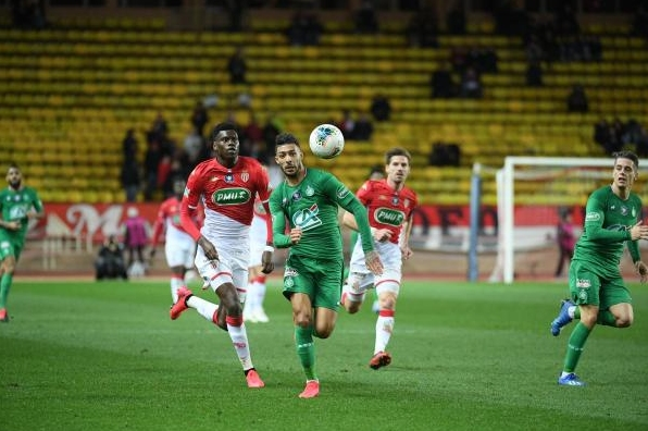 Отборът на Сент Етиен елиминира Монако в 1/8-финалите на турнира