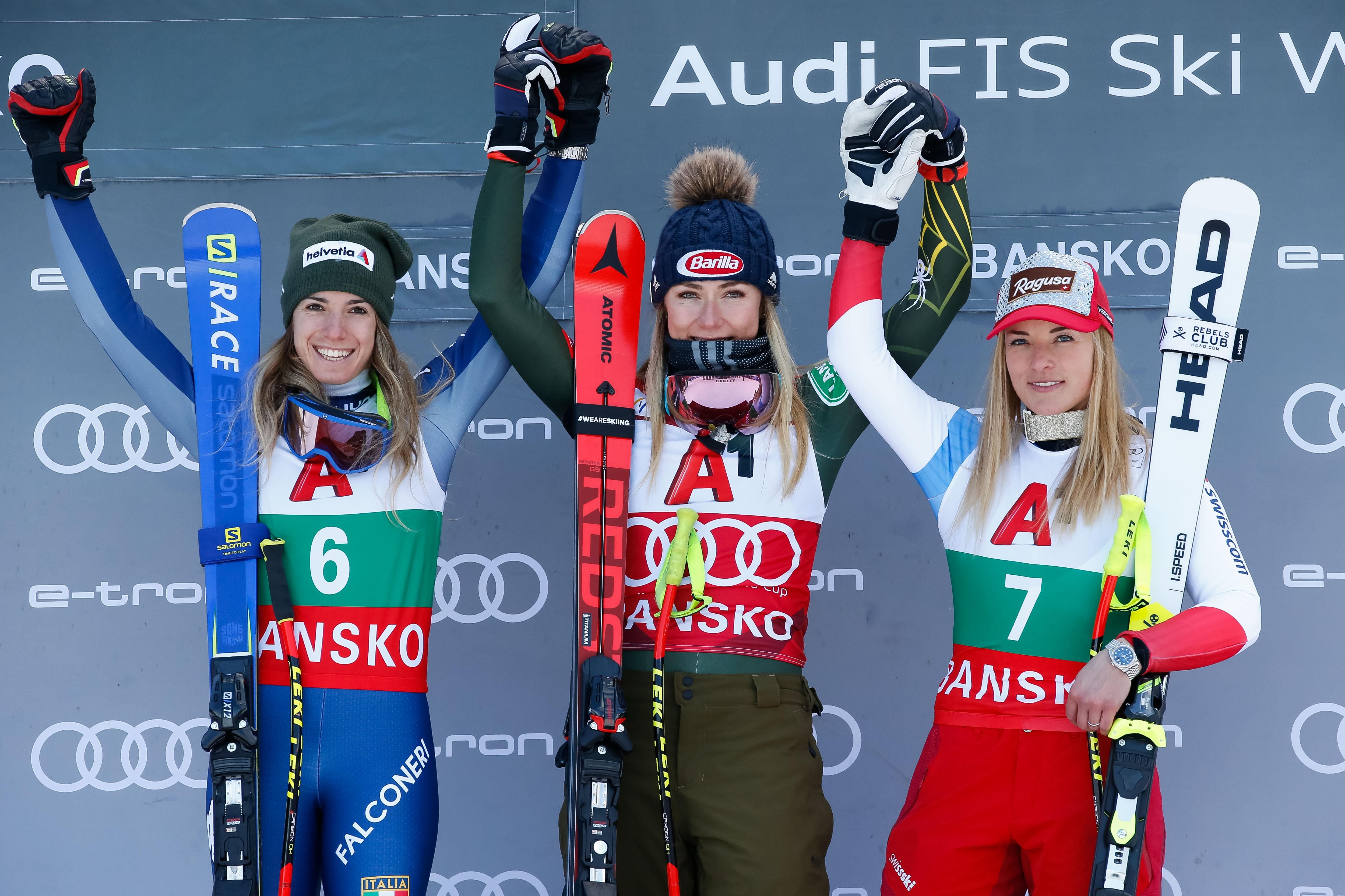 24-годишната американска звезда в алпийски ски Микаела Шифрин реши да