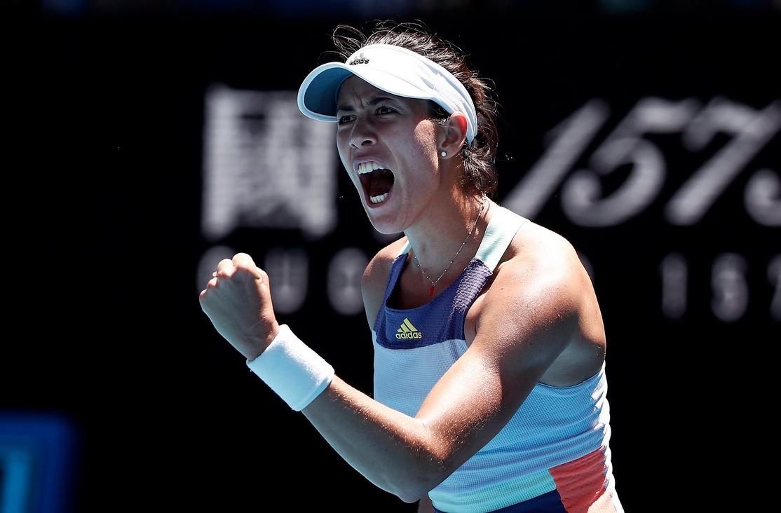 Испанката Гарбине Мугуруса се класира на 1/2-финал на първия за