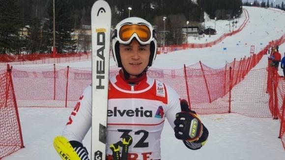 Националът в алпийските ски Йоан Тодоров (Юлен) спечели днешния гигантски