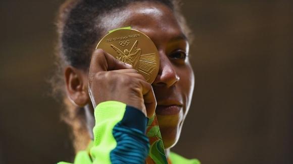 Олимпийската шампионка по джудо в категория до 57 килограма от