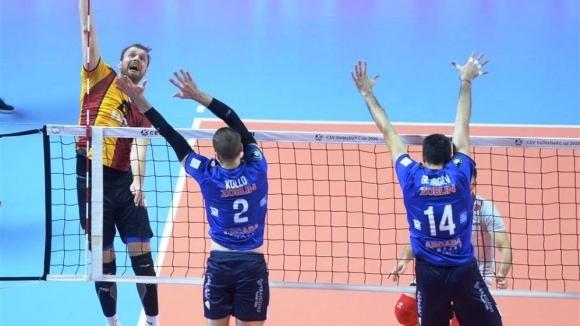 Волейболният национал Красимир Георгиев и неговоят Мунисипал Аркада (Галац) са