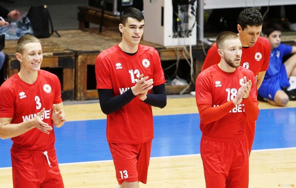 Волейболистът на ЦСКА Димитър Димитров бе избран за най-полезен играч