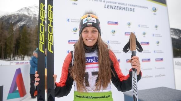 Милена Тодорова спечели втори медал на световното първенство по биатлон