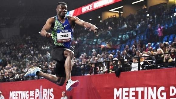 Световният бронзов медалист в тройния скок на открито Хюджис-Фабрис Занго