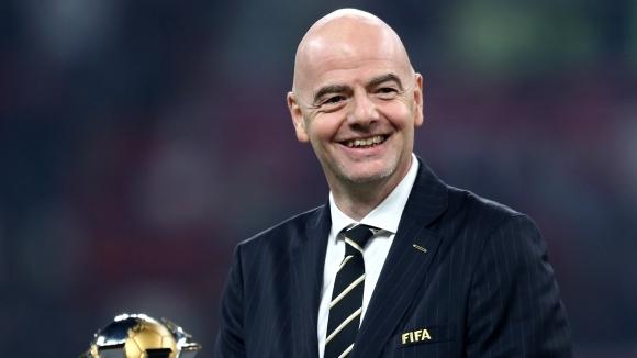 Президентът на ФИФА Джани Инфантино смята, че една от основните