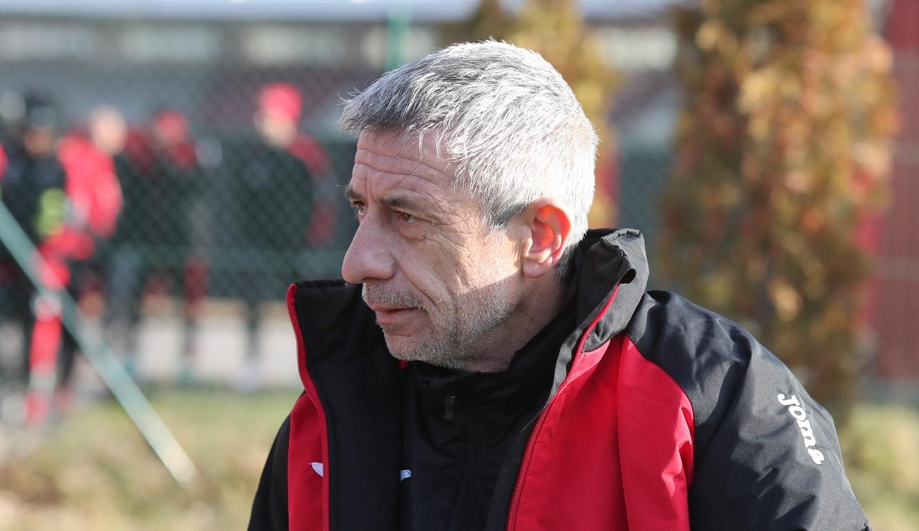 Наставникът на Локомотив (София) Радослав Здравков е удовлетворен от проведения