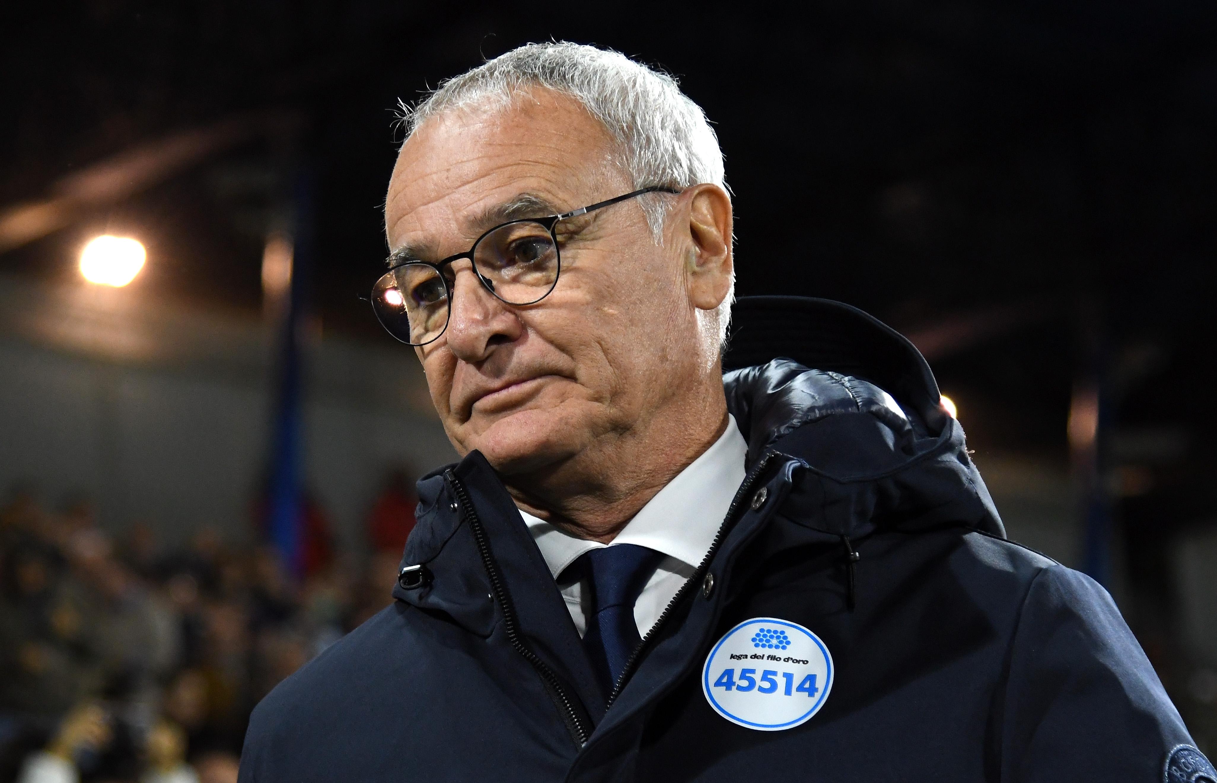 Старши треньорът на Сампдория Клаудио Раниери се извини, след като