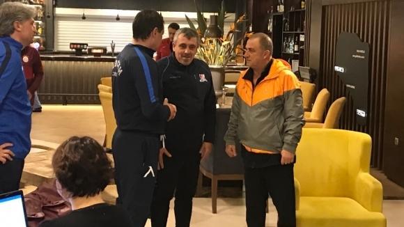 Наставникът на Левски Петър Хубчев се срещна с легендарния турски
