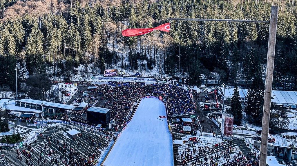 Квалификациите от Световната купа по ски-скок на голямата шанца във