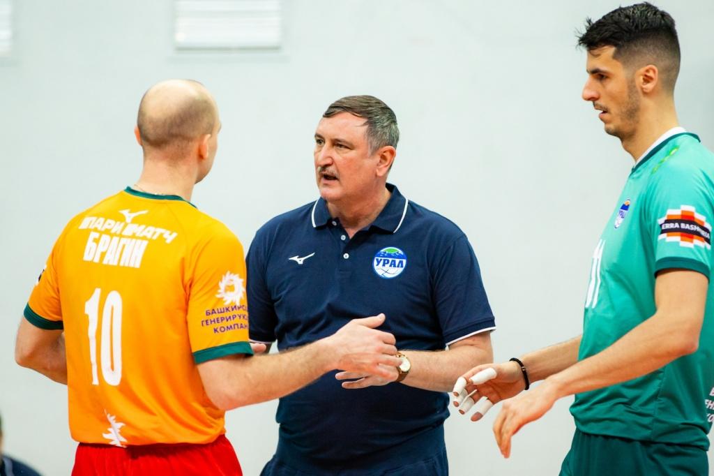 Националът Светослав Гоцев и неговият отбор Урал (Уфа) се върнаха