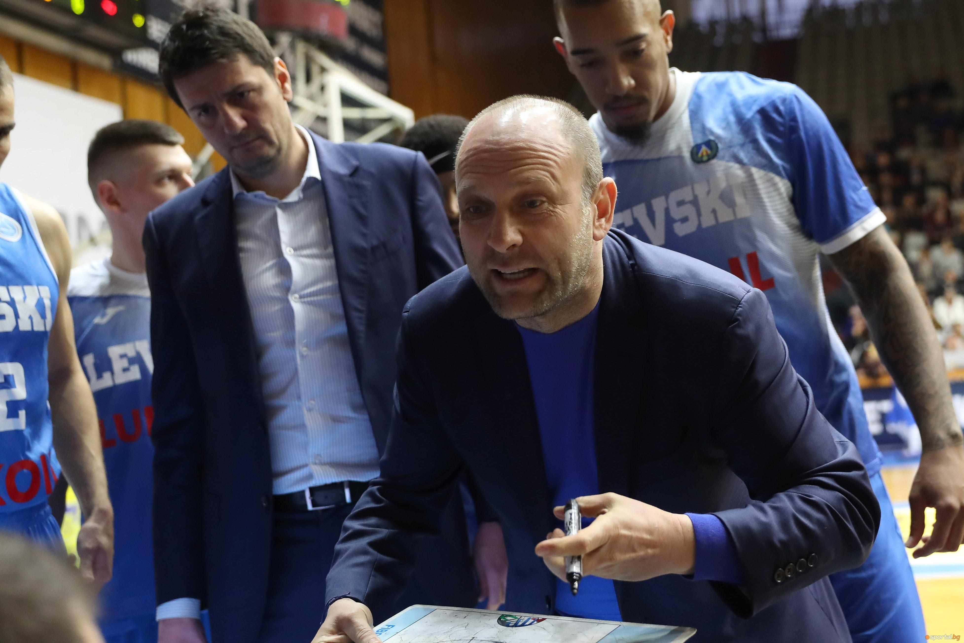 Старши-треньорът на Левски Лукойл Константин Папазов бе изключитено доволен след