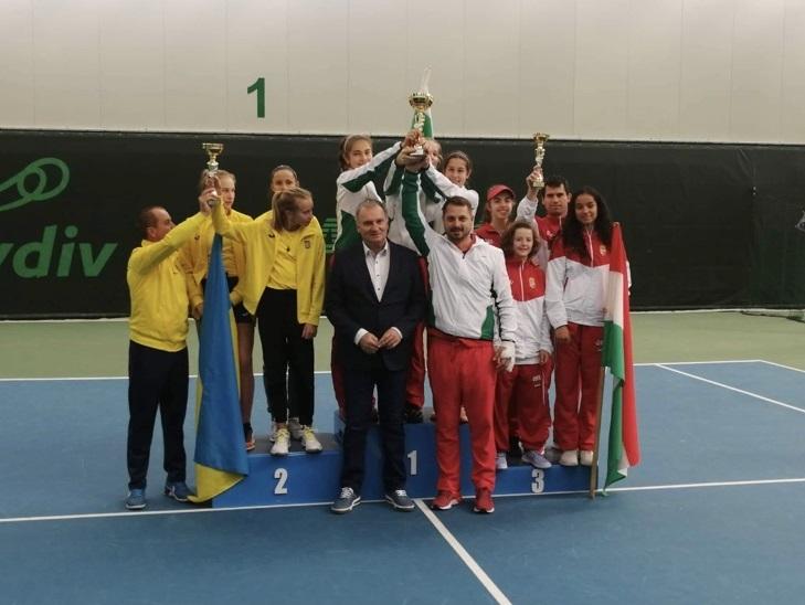Националките на България до 14 години спечелиха първото място на