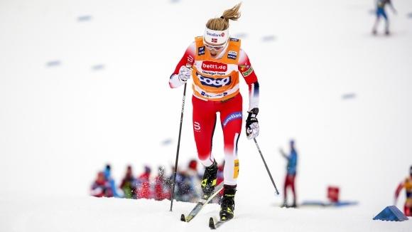 Норвежката Терезе Йохауг спечели масовия старт на 10 километра свободен