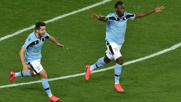 Отборът на Лацио постигна минимална победа с 1:0 при гостуването