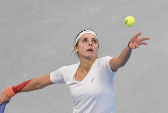 Най-добрите български тенисистки Виктория Томова, Изабелла Шиникова, Елица Костова и
