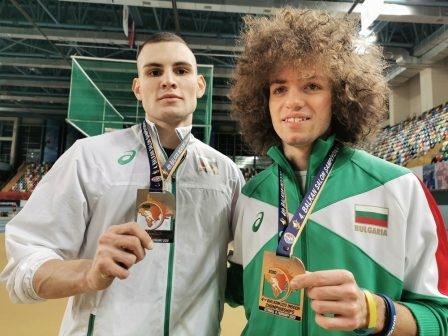 Александра Начева (троен скок), Добромир Николов (60 м с препятствия)