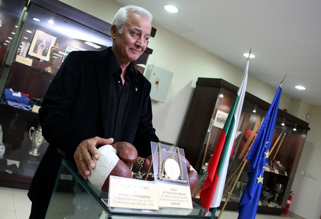 Първият олимпийски шампион по бокс на България Георги Костадинов отговори