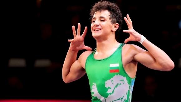 Европейският шампион за мъже от първенството в Рим Едмонд Назарян