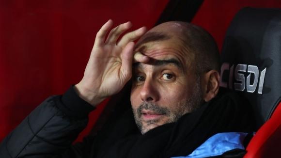 Мениджърът на Манчестър Сити Джосеп Гуардиола не гледа на себе