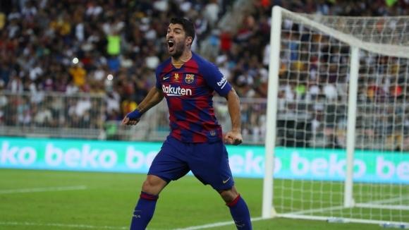 Нападателят на Барселона Луис Суарес се надява да се завърне