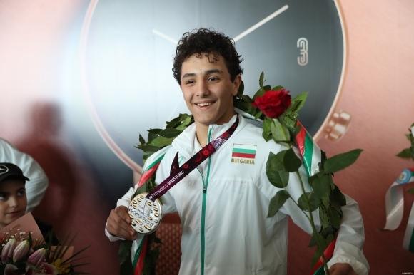 Българският борец в класически стил Едмонд Назарян-Еди е твърдо решен