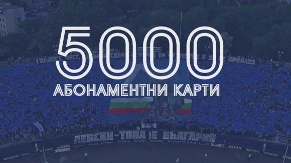 Футболният Левски продължава да чупи рекорди що се отнася до