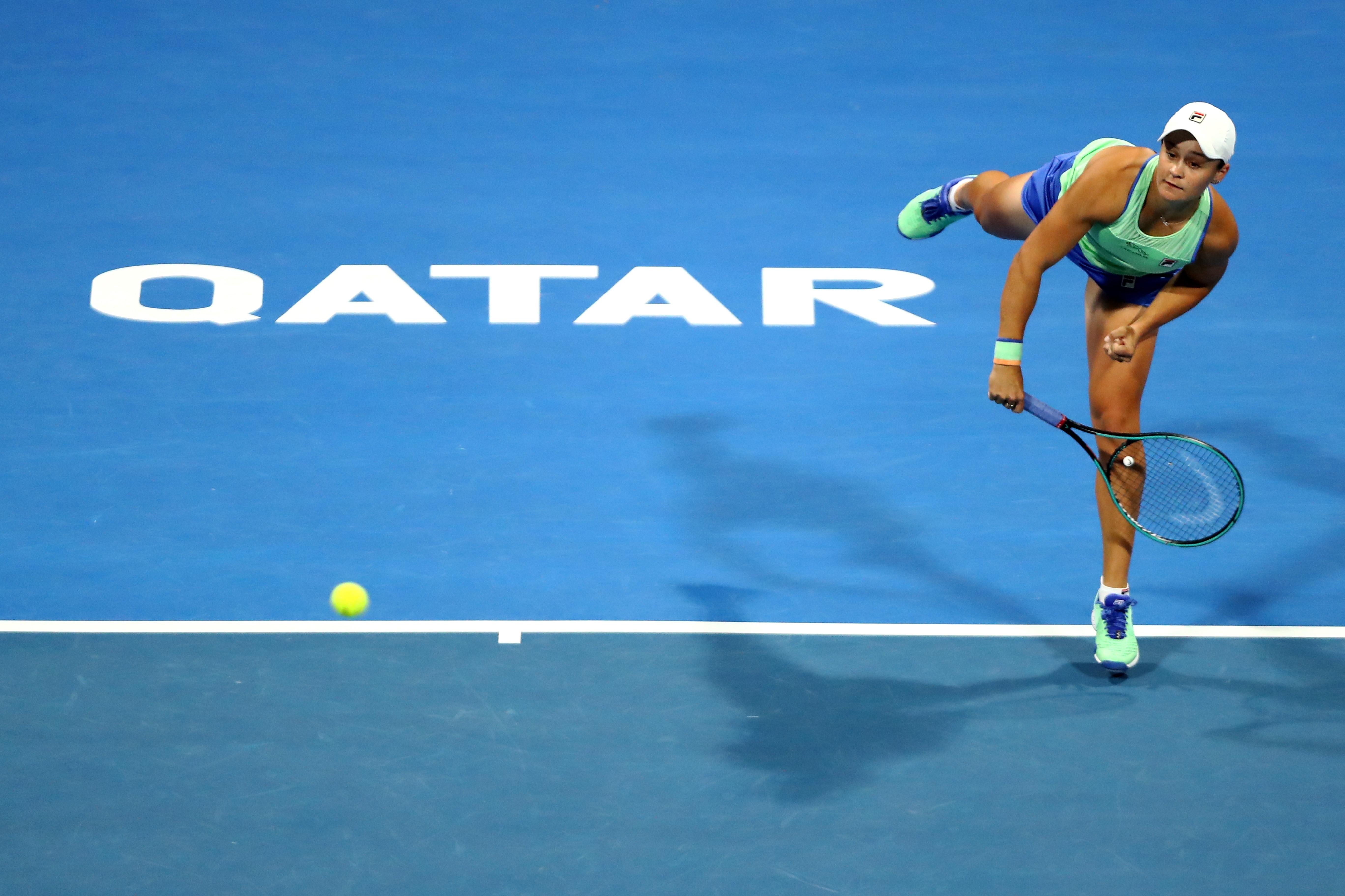 Водачката в световната ранглиста по тенис Ашли Барти се класира