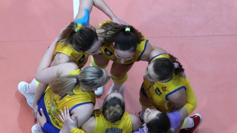 Женският волейболен шампион на България Марица (Пловдив) записа този сезон