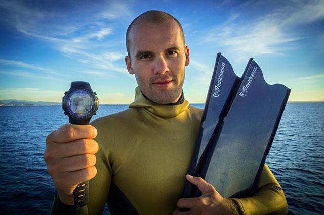 Световният шампион и притежател на 18 световни рекорда Алексей Молчанов,
