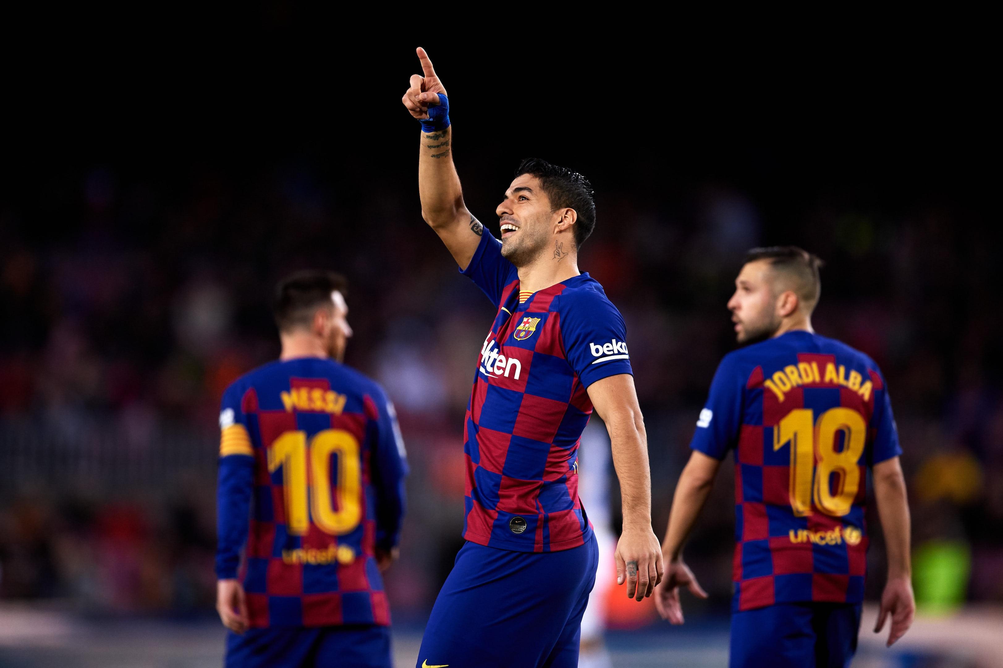 Нападателят на Барселона Луис Суарес обяви, че в договора му