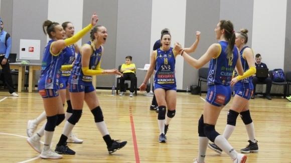 Марица (Пловдив) записа 18-та поредна победа в НВЛ. Шампионките надиграха