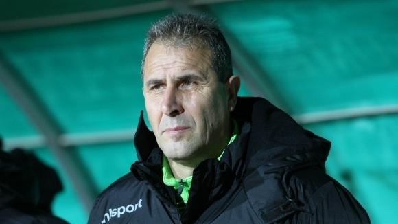 Старши треньорът на Берое Димитър Димитров остана доволен от представянето