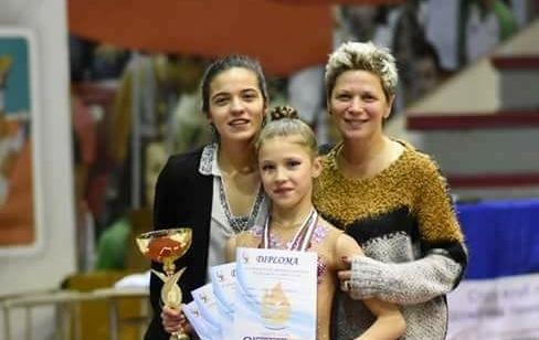 Магдалена Миневска от клуб Левски Илиана спечели първото място в