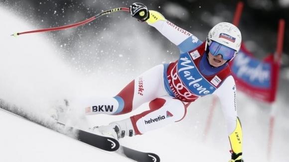 Австрийката Нина Ортлиб спечели старта в Супер-Г от Световната купа