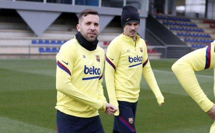 Противно на очакванията Жорди Алба попадна в групата на Барселона