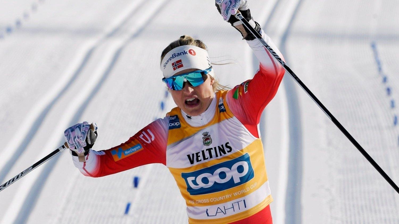 Норвежката Терезе Йохауг спечели дистанцията на 10 км класически стил