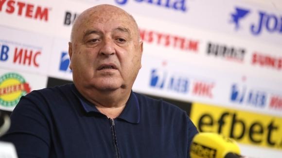 Президентът на Славия Венцеслав Стефанов заяви, че е безкрайно разочарован