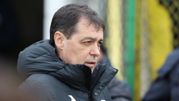 Старши треньорът на Левски Петър Хубчев сподели първите си впечатления