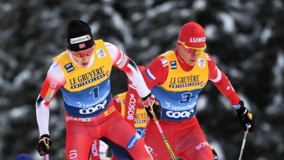 Носителят на Световната купа по ски-бягане Александър Болшунов не може