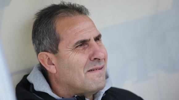 Треньорът на Берое Димитър Димитров говори за