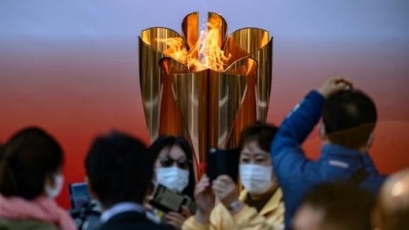 Над 55 хиляди души се стекоха да видят олимпийския огън