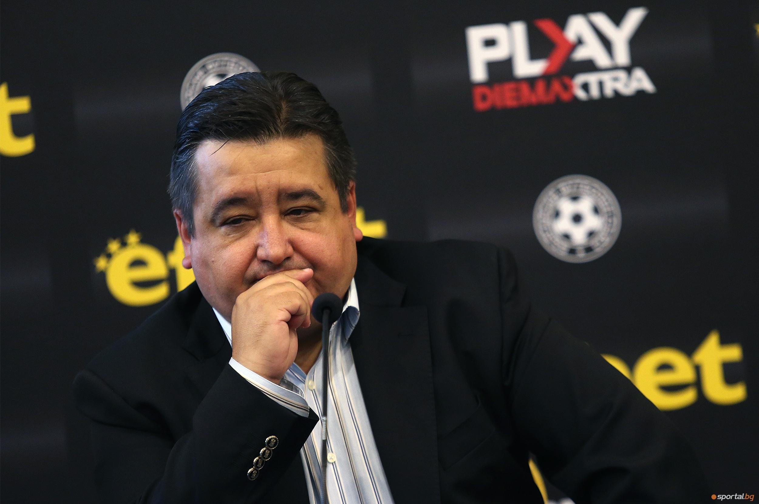 Генералният секретар на ПФЛ Атанас Караиванов заяви, че всяко забавяне