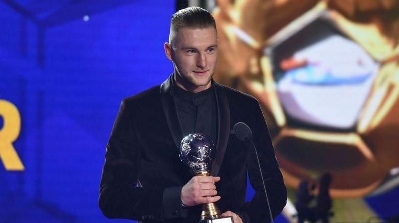 Защитникът на Интер Милан Шкриняр беше избран за най-добър футболист