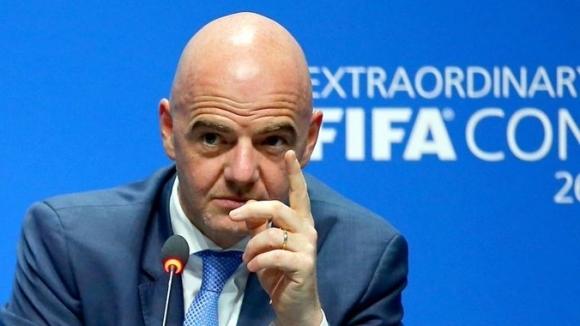 Президентът на ФИФА Джани Инфантино призова футболната общност за съвместна