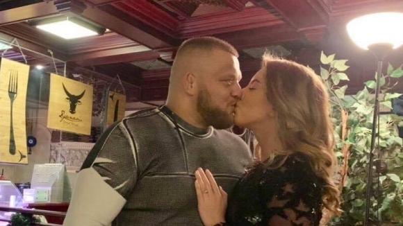 Грацията Катрин Тасева и бившият национал по борба Николай Щерев
